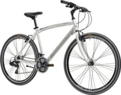 28 Zoll Herren Hybrid Mountainbike 21 Gang Adriatica Boxter FY... weiß, 55cm