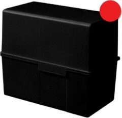 Rode HAN 976-17 Systeemkaartenbak Rood A6 300 kaarten Polystyreen staal 16 5 x 12 8 cm