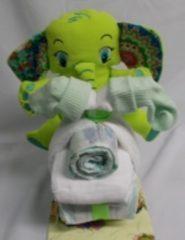 Sabinesgeschenkenshop.be Brommer klein olifant groen