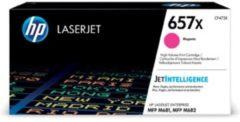 Paarse HP 657X LaserJet Original Toner Cartridge Magenta High Yield