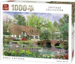 King International Generic 1000 stukjes April Cottage
