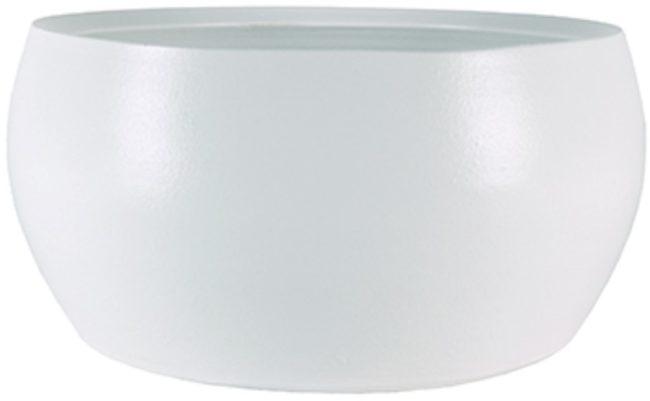 Afbeelding van Witte Ter Steege Bowl cresta pure white bloempot binnen 28 cm