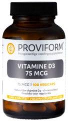 Proviform Vitamine D3 75 mcg 100 Vegacaps