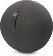 Antraciet-grijze Maison Woonstore Maison's Felt – Zitbal – Antraciet – 65 cm – Ergonomische zitbal – voor thuis of op kantoor – office ball