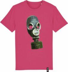 Fuchsia Bolster Tees #0019 Masker Bolster Tees Heren T-shirt Maat L