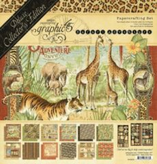 Graphic45 Graphic 45 Safari Adventure 12x12 Inch Deluxe Collector's Edition (4502022)