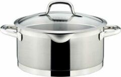 Zilveren Tescoma President Kookpot met Deksel - Ø 24cm - 5L