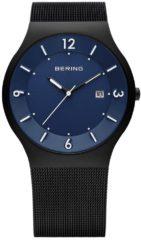 BERING 14440-227 - Horloge - Staal - Zwart - Ø 40 mm