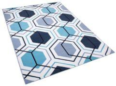 Beliani GIRESUN Vloerkleed Meerkleurig Polyester 140 x 200 cm