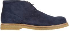Blue Tod's Polacchine stivaletti scarpe uomo camoscio polacco gomma