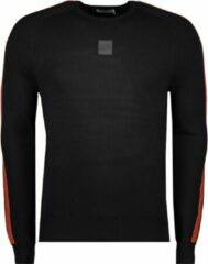 Zwarte Antony Morato Orange Line Mmsw01081 Ya500002 9000 Black