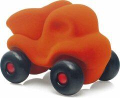 Rubbabu - Kleine kiepwagen oranje