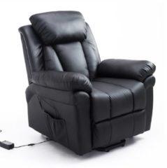 Elektrischer Fernsehsessel mit Aufstehhilfe HOMCOM schwarz