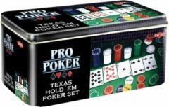 Selecta Spellen Pro Poker Texas Hold em set - Kaartspel