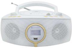 Soundmaster SCD1500 Stereo DAB+/UKW-PLL Radio, CD/MP3, verschiedene Farben Farbe: Weiß