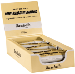 Barebells Protein Bar - 12x55g - White Chocolate Almond