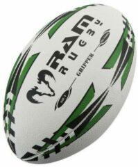 RAM Rugtby Gripper rugbybal bundel - Wedstrijd/training - Met draagtas - Maat 4 - Geel - 15 stuks