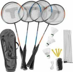 Merkloos / Sans marque Badminton Set Met Net 4 Spelers