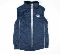Poccino Sint-Ludgardis schooluniform - Bodywarmer - Donkerblauw - Maat XXS/12 jaar