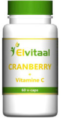 Elvitaal Cranberry + 60 Mg Vitamine C (60st)