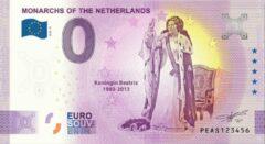 Paarse 0 Euro Biljet 2020 - Vorsten van Nederland - Koningin Beatrix