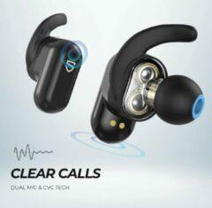 SoundPEATS Truengine 2 Headset In-ear true wireless oortjes harde Bass | Zwart
