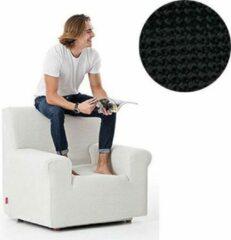 MeubelVisie Milos meubelhoezen - Fauteuilhoes - Zwart - Verkrijgbaar in verschillende kleuren!