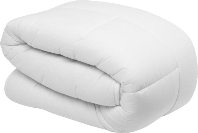 Afbeelding van Witte Jollein Dekbed 4-seizoenen 120x150 cm 2-delig wit