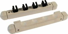 Buffalo cue wall rack for 4 cues white