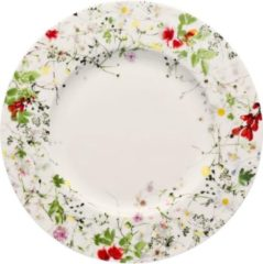 Witte ROSENTHAL - Brillance Fleurs Sauvages - Bord 23cm met rand