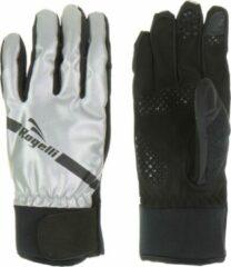 Rogelli Barrie Sporthandschoenen - Unisex - zilver/zwart