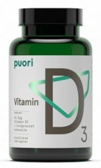 Rode Puori D3 vitamine D (120 capsules) - Vitamines & supplementen
