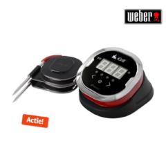 Zwarte Weber iGrill 2 Digitale Draadloze Thermometer - Zwart