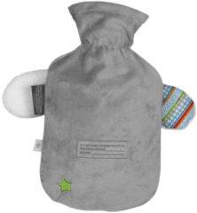 Wärmflasche mit Bezug Hund Fashy Grau