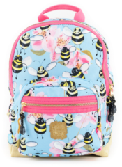 Pick & Pack Bee Backpack S sky blue Kindertas