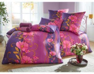 Bettwäsche 'Isabella' Webschatz lila