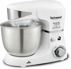 Roestvrijstalen Techwood - Keukenmachine TRO-1051 - Staande mixer - 1000 Watt