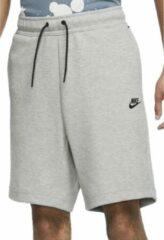 Licht-grijze Nike Sportswear Tech Fleece Heren Short - Maat M