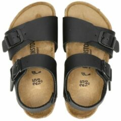 Zwarte Birkenstock New York sandalen