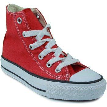 Afbeelding van Rode Hoge Sneakers Converse ALL STAR