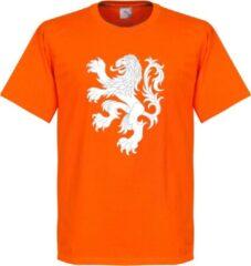 Oranje Merkloos / Sans marque Nederlands Elftal Lion T-Shirt - S