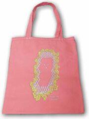 Anha'Lore Designs - Spookje - Exclusieve handgemaakte tote bag - Zalmroze