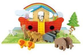 Afbeelding van Small Foot Company Small Foot Speelset Van Hout ''ark Van Noach''