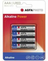 AAA batterij (potlood) AgfaPhoto LR03 Alkaline 1.5 V 4 stuk(s)