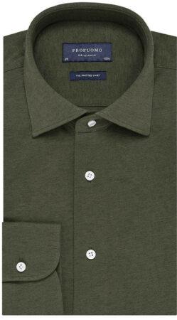 Afbeelding van Profuomo Dress hemd pp0h0a058 groen