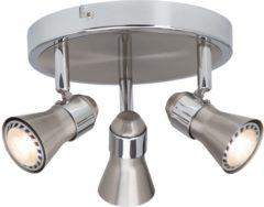 Brilliant Sanny G15434/77 Plafondspot LED GU10 Energielabel: A (A++ - E) 15 W Chroom