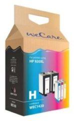 Zwarte WeCare Cartridge combipack zwart (2x) + kleur (3x)
