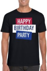 Toppers official merchandise Toppers - Zwart Toppers in concert t-shirt Happy Birthday party heren - Officiele Toppers in concert merchandise S