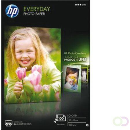 Afbeelding van Acer HP Everyday Photo Paper - fotopapier - 100 vel(len) - 100 x 150 mm - 200 g/m² (CR757A)