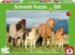 Schmidt Paardenfamilie, 200 stukjes Puzzel